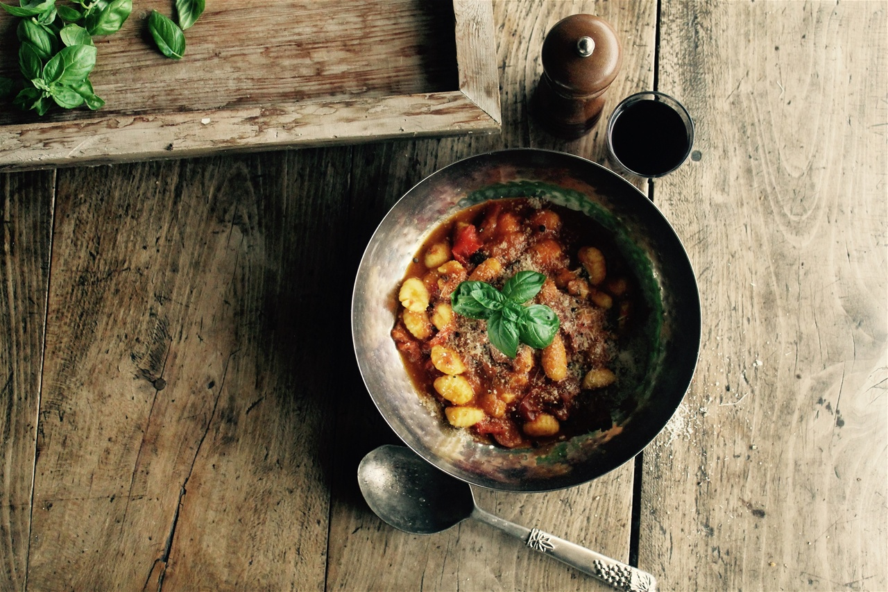 Denise Downey Cooks Gnocchi with chorizo, tomato & fresh basil